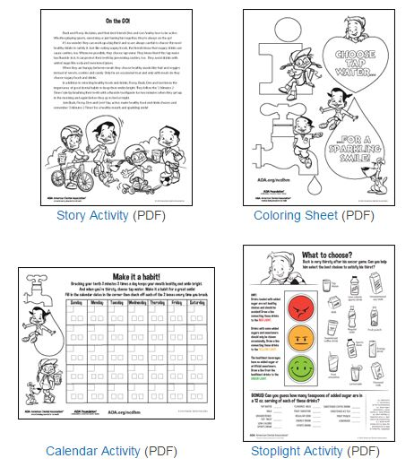 dental-health-activity-sheets